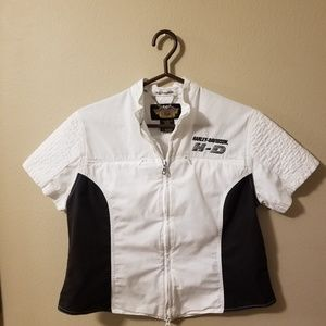 Women's Medium Harley-Davidson Zip Top